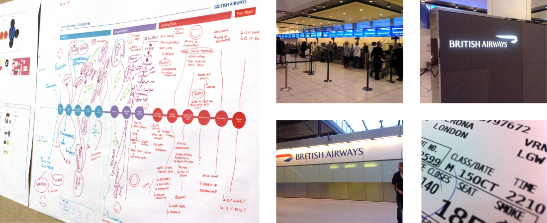 BA User Experience Mapping and Group Research Flight-1